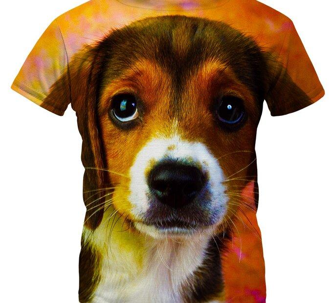Detské tričko Puppy