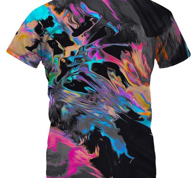 Detské tričko Space Colours