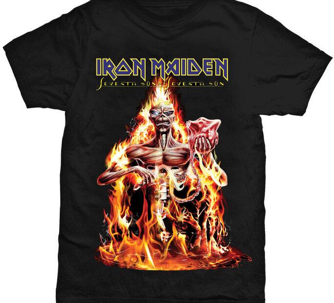 Tričko Iron Maiden Seventh Son