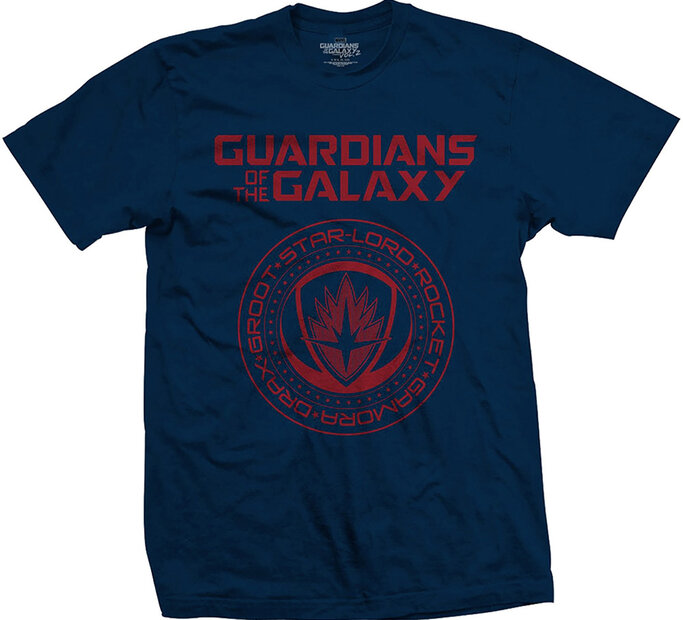 Tričko Marvel Comics Guardians of the Galaxy Vol. 2 Seal