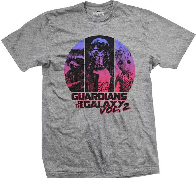 Tričko Marvel Comics Guardians of the Galaxy Vol. 2 Three's Up