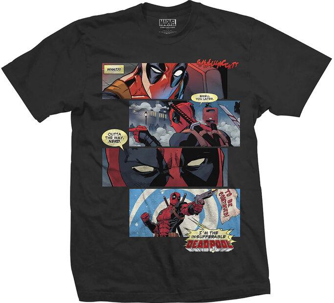 Tričko Marvel Comics Tee Deadpool Strips