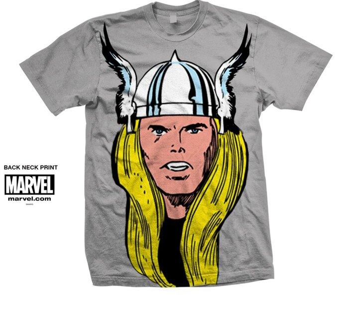 Tričko Marvel Comics Thor Big Head