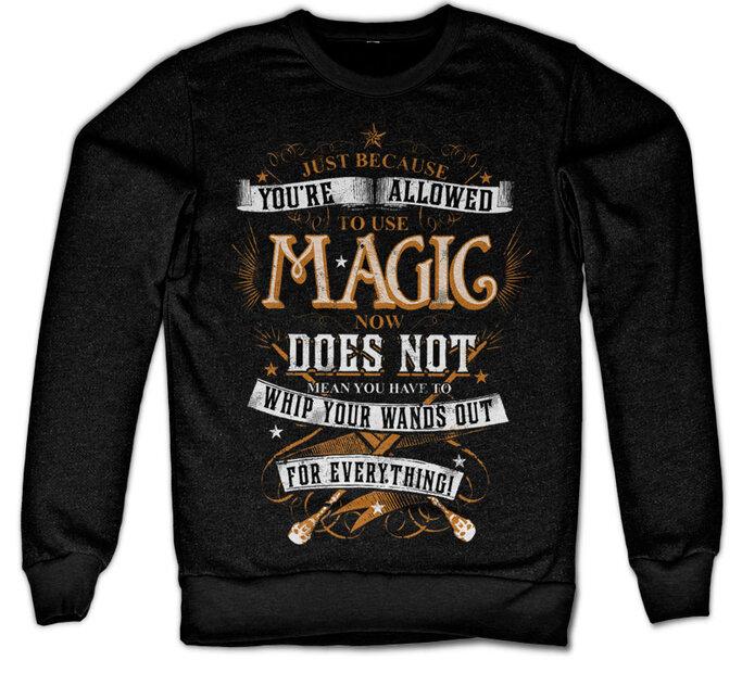 Hanorac fără glugă Magic