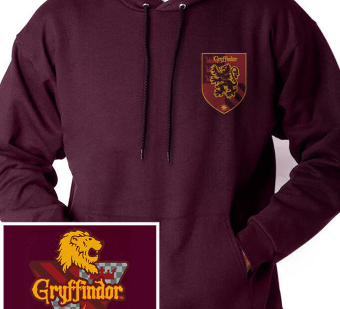 Mikina s kapucňou Harry Potter - Fakulta Chrabromil