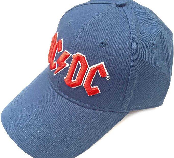Modrá šiltovka AC/DC Men's Red Logo