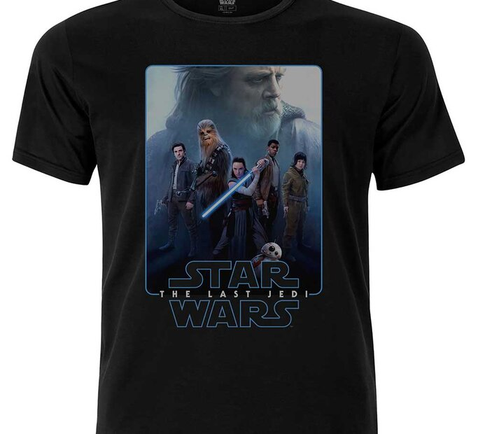 Tricou Star Wars Men's Premium Tee: Episode VIII The Force Composite