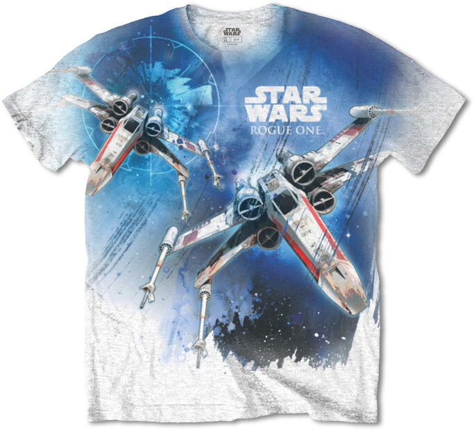 T-Shirt Star Wars Rogue One X-Wing
