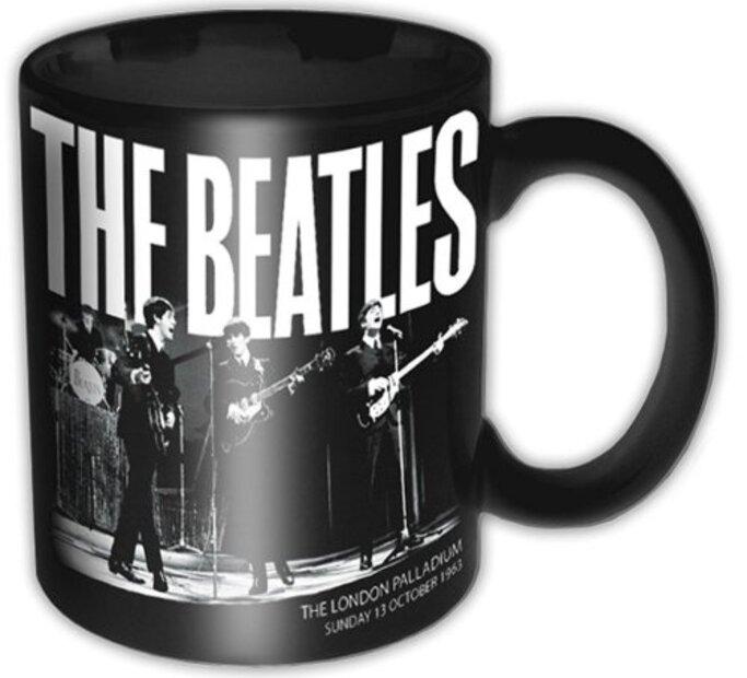Keramický hrnček The Beatles Palladium 1963