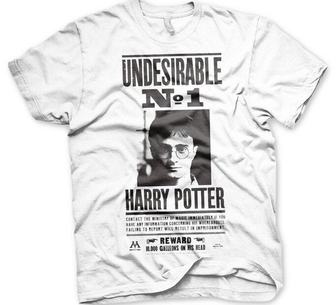 Tričko Harry Potter Wanted