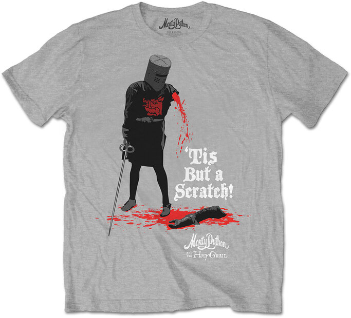 T-Shirt Monty Python Tis But A Scratch
