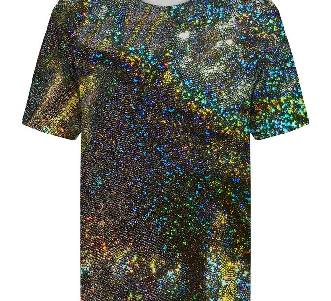 T-Shirt mit kurzen Ärmeln Hologramm