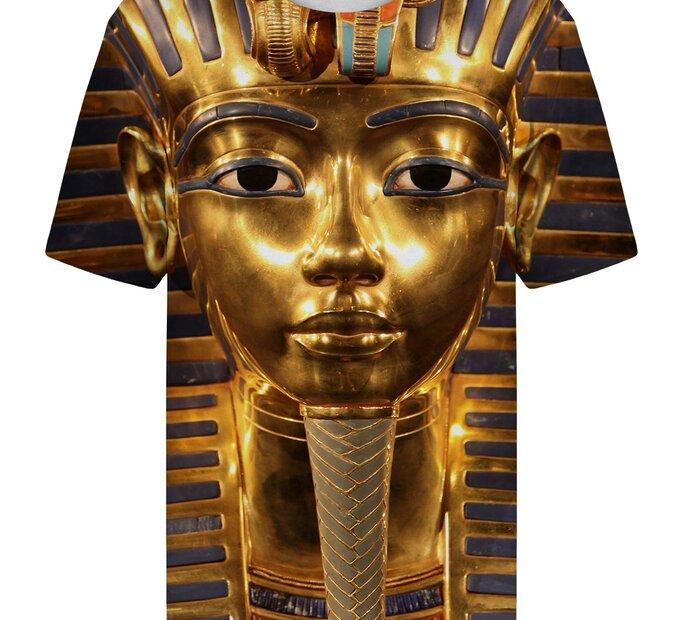 Tricou cu mânecă scurtă Faraonul de aur