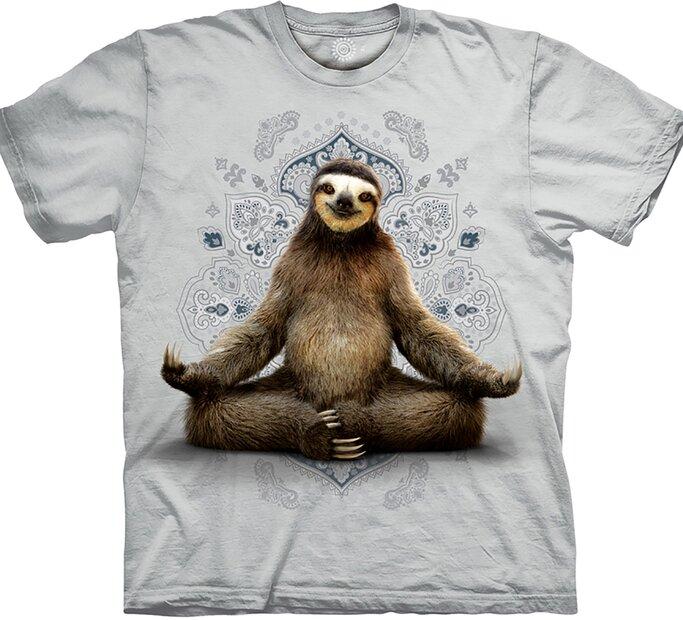 Tričko Meditujúci leňochod