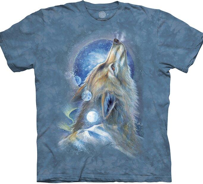Tričko Zavíjajúci vlk