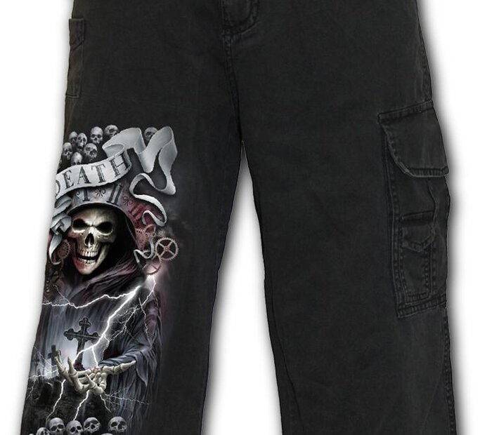 Pánske trojštvrťové nohavice Rytier smrti
