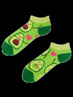 Lustige Knöchelsocken Avocado-Liebe