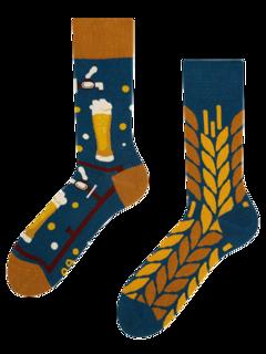 Lustige Socken Zeit für ein Bier