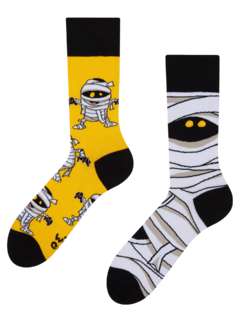 Lustige Socken Mumie