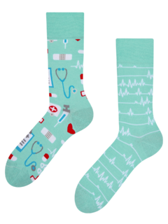 Lustige Socken Medizin