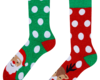 Sale Good Mood Warm Socks Santa & Rudolph
