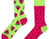 Sale Good Mood Socks - Watermelon