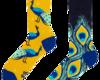 Pre dokonalý a originálny outfit Good Mood Socks - Peacock