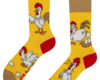 Looking for an original and unusual gift? The gifted person will surely surprise with Good Mood Regular Socks Chicken or the Egg
