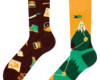 Looking for an original and unusual gift? The gifted person will surely surprise with Good Mood Socks - Hiking