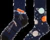 Foto Lustige Socken Kosmos