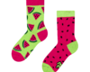 Looking for an original and unusual gift? The gifted person will surely surprise with Good Mood Kids Socks Watermelon