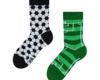 Looking for an original and unusual gift? The gifted person will surely surprise with Good Mood Kids Socks Football