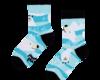 Original gift Good Mood Kids Socks Polar Bear