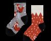 Original gift Good Mood Kids Socks Fox