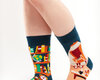 Potešte sa týmto kúskom Dedoles Good Mood Socks - Library