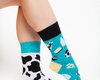 Looking for an original and unusual gift? The gifted person will surely surprise with Good Mood Socks - Cow
