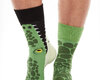 Looking for an original and unusual gift? The gifted person will surely surprise with Good Mood Socks - Crocodile