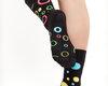 Gift idea Good Mood Socks - Neon dots