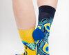 Original gift Good Mood Socks - Peacock