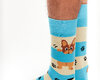 Looking for an original and unusual gift? The gifted person will surely surprise with Good Mood Socks Dogs & Stripes