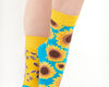 Looking for an original and unusual gift? The gifted person will surely surprise with Good Mood Socks - Sunflower