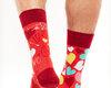 Potešte sa týmto kúskom Dedoles Good Mood Regular Socks Hearts