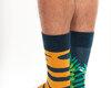 Pre dokonalý a originálny outfit Good Mood Socks - Tiger