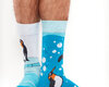 Looking for an original and unusual gift? The gifted person will surely surprise with Good Mood Socks Penguins