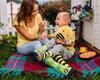 Pre dokonalý a originálny outfit Good Mood Socks Bee Happy