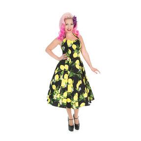 Black Retro Pin Up Dress Lemons