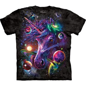 T-shirt Unicorn in Space