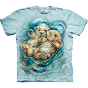 T-shirt Otter Pups