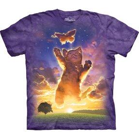 T-Shirt Himmlisches Kätzchen