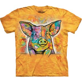 T-shirt Colourful Pig